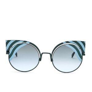 Fendi Cat Eye Sunglasses, 53mm